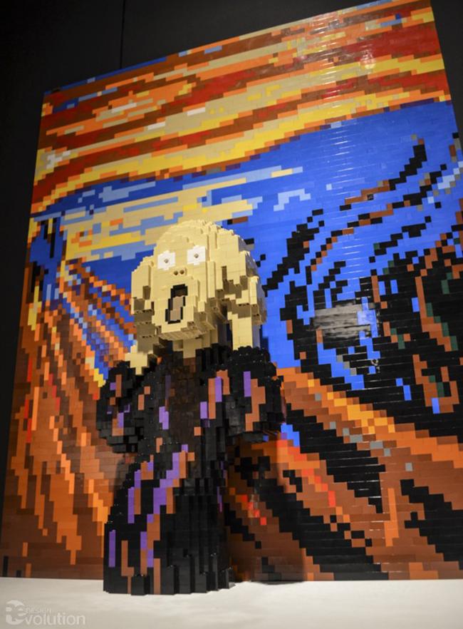 nejtan savaja lego kocke 1 Umetnička dela i LEGO kocke: Nejtan Savaja