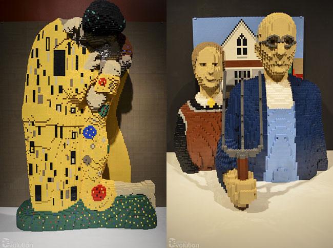 nejtan savaja lego kocke1 Umetnička dela i LEGO kocke: Nejtan Savaja