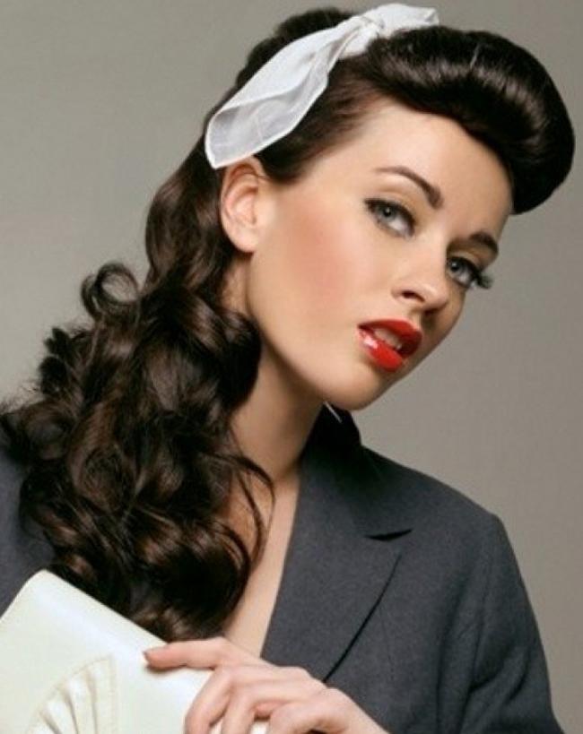 retro frizura Retro frizure: Lokne i glamur