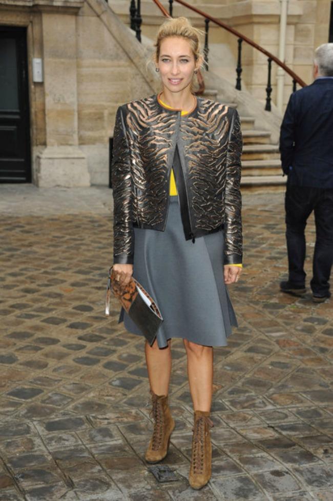 street style aleksandra golovanof stajlis jakna Najbolje odevne kombinacije novinarke Aleksandre Golovanof