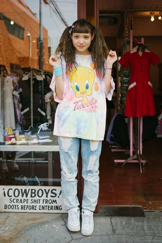 street style moda na ulicama tokija crtani junaci Street Style: Moda na ulicama Tokija