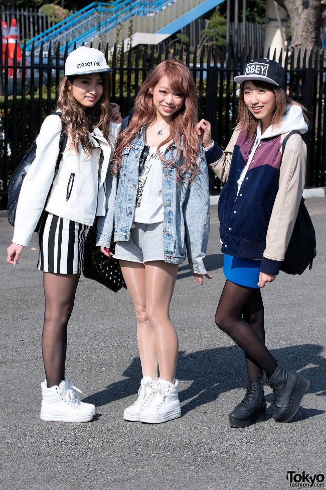 street style moda na ulicama tokija skolarke Street Style: Moda na ulicama Tokija