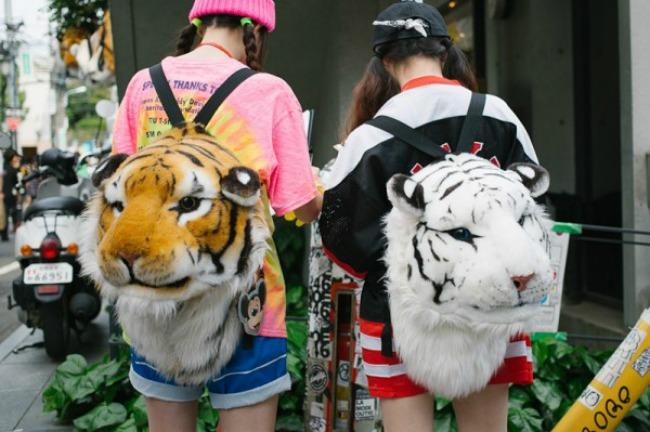 street style moda na ulicama tokija zanimljivi rancevi Street Style: Moda na ulicama Tokija