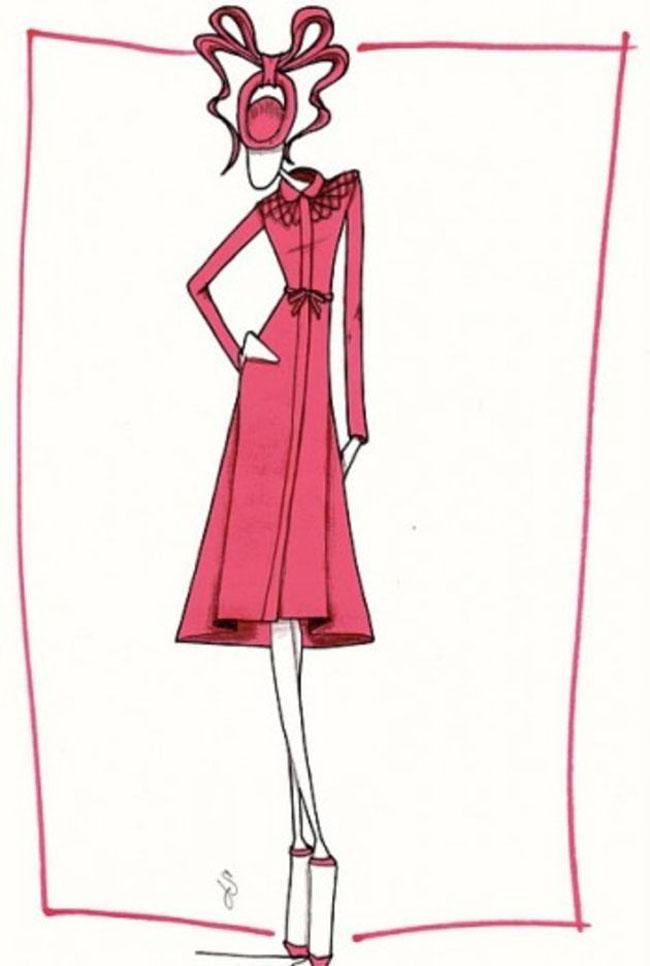 the fashion illustration Moda i umetnost: Najbolji blogovi sa modnim ilustracijama