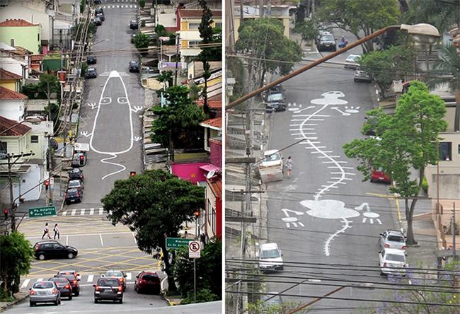 ulicna umetnost na ulicama sao paola 4 Ulična umetnost: Na ulicama Sao Paola