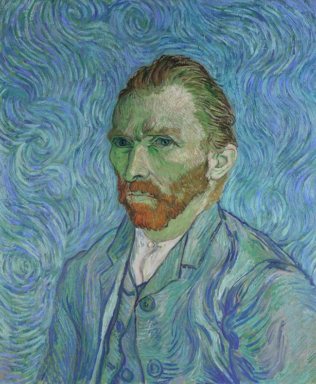 vinsent van gog autoportret Umetnost slikanja: Autoportreti Vinsenta van Goga