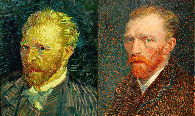 vinsent van gog autoportreti 2 Umetnost slikanja: Autoportreti Vinsenta van Goga