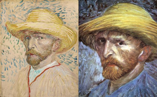 vinsent van gog autoportreti 3 Umetnost slikanja: Autoportreti Vinsenta van Goga