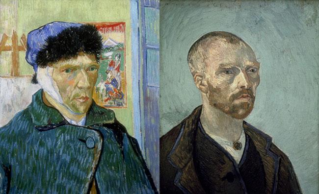 vinsent van gog autoportreti 4 Umetnost slikanja: Autoportreti Vinsenta van Goga