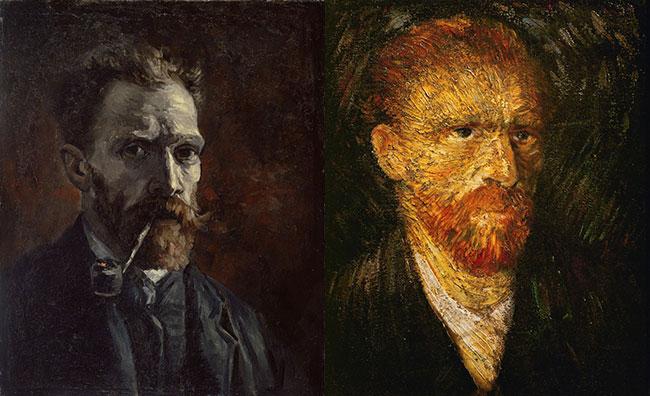vinsent van gog autopotreti 1 Umetnost slikanja: Autoportreti Vinsenta van Goga