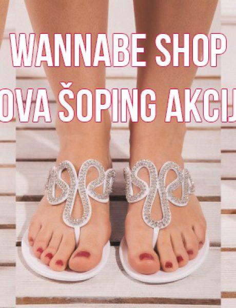 Wannabe Shop: Nova šoping akcija