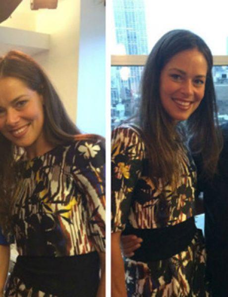 Ana Ivanović na modnoj reviji Oskara De La Rente