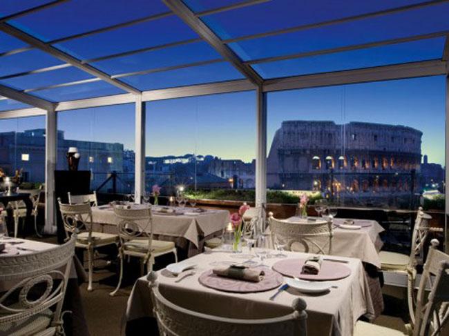 Aroma at palazzo manfredi Najbolji restorani Rima