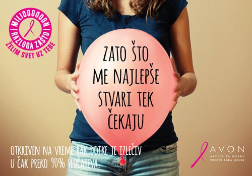 BCC1000 10 godina Avon Akcije za borbu protiv raka dojke u Srbiji