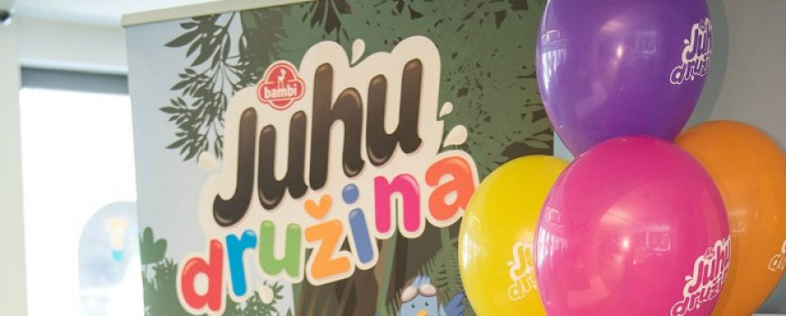 Bambi Juhu družina: novi album za sličice
