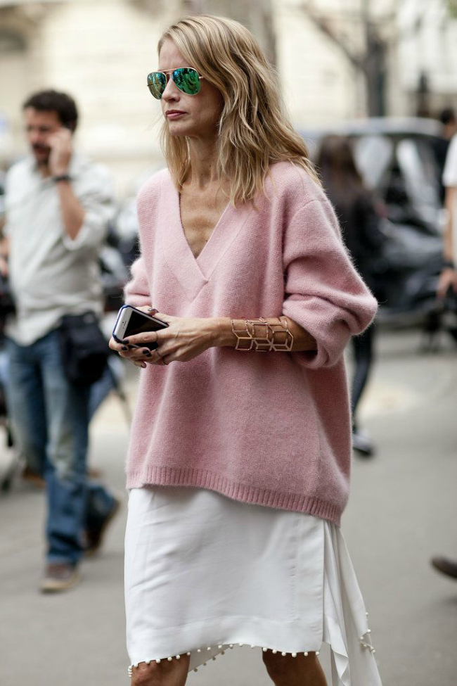 Cupavo Šta obući ove nedelje: Džemper i suknja