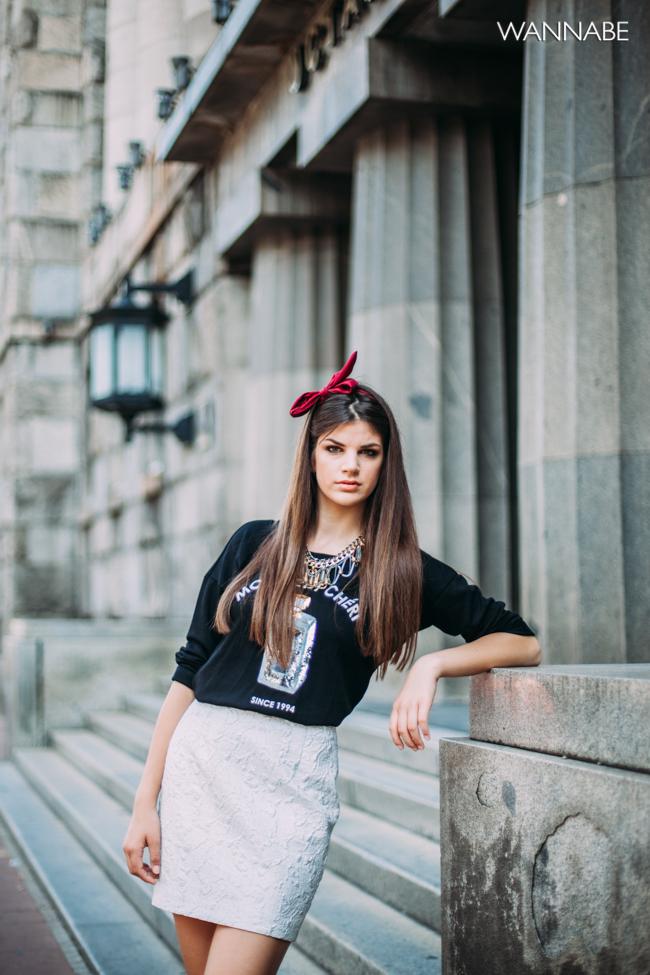 Dajana Vreco modni predlog 1 Modni predlog: Mladalački stil