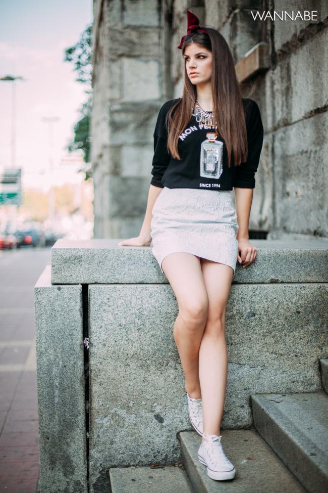 Dajana Vreco modni predlog 2 Modni predlog: Mladalački stil