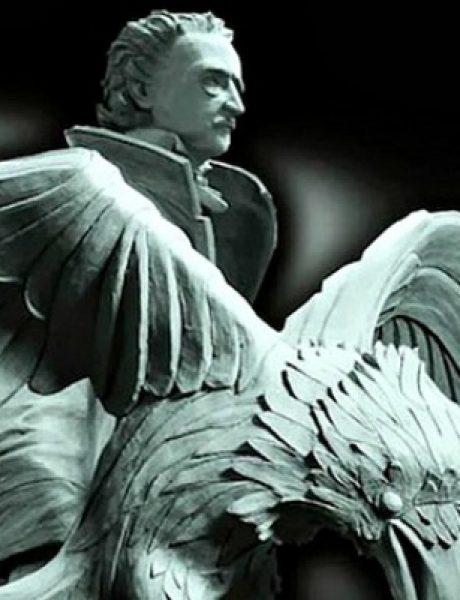 Doza nauke i kulture: Bronzana statua neprikosnovenog Edgara Alana Poa