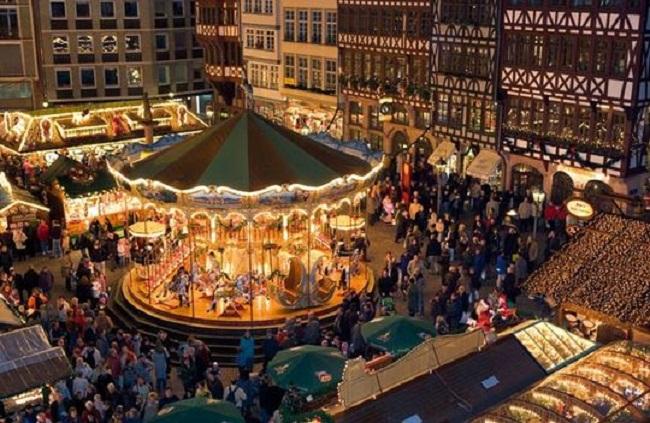 Frankfurt Old Town Put oko sveta: Frankfurt na Majni