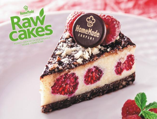 HomeMade Raw Cakes Malina kokos Raw Cakes (presne torte)   Novo u ponudi HomeMade Company