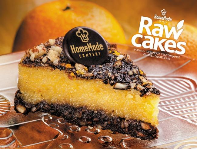 HomeMade Raw Cakes Narandza urma Raw Cakes (presne torte)   Novo u ponudi HomeMade Company