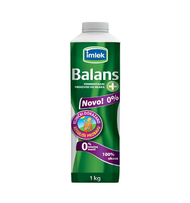 Imlek Balans jogurt 1kg Novi proizvod iz Imleka: Balans + jogurt sa 0% mlečne masti