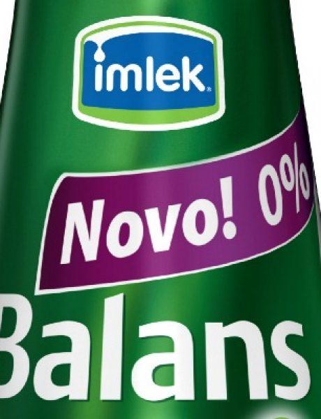Novi proizvod iz Imleka: Balans + jogurt sa 0% mlečne masti