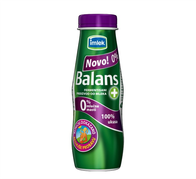 Imlek Balans jogurt 250g Novi proizvod iz Imleka: Balans + jogurt sa 0% mlečne masti