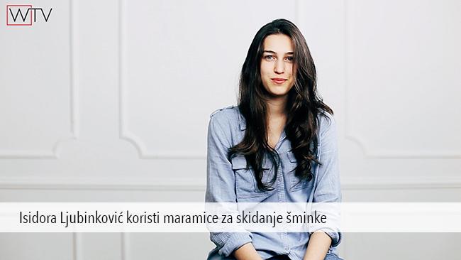 Isidora Ljubinkovic Garnier Kako da negujem lice: Čišćenje suve kože lica