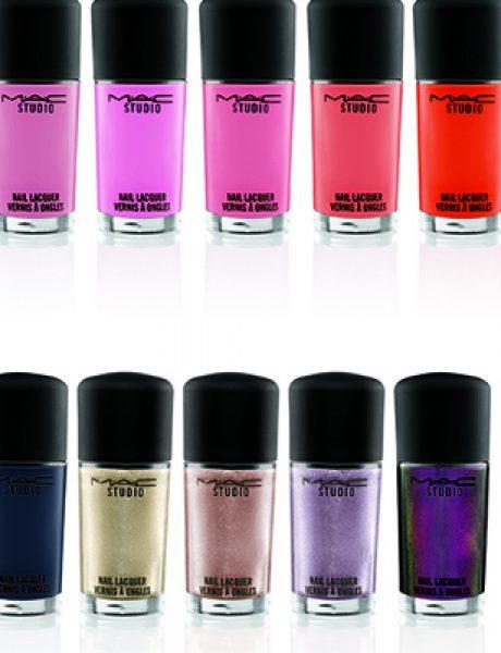 MAC Cosmetics: Nova kolekcija Studio Nail Lacquer