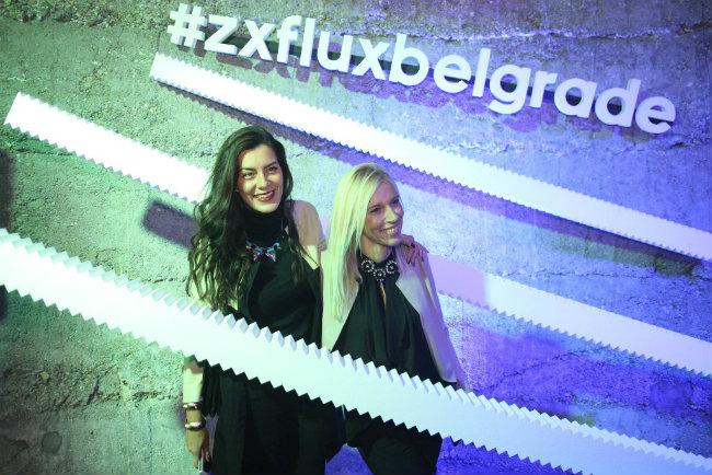 Marija Kilibarda i Irina Radovic Gosti žurke zajednički dizajnirali adidas patike