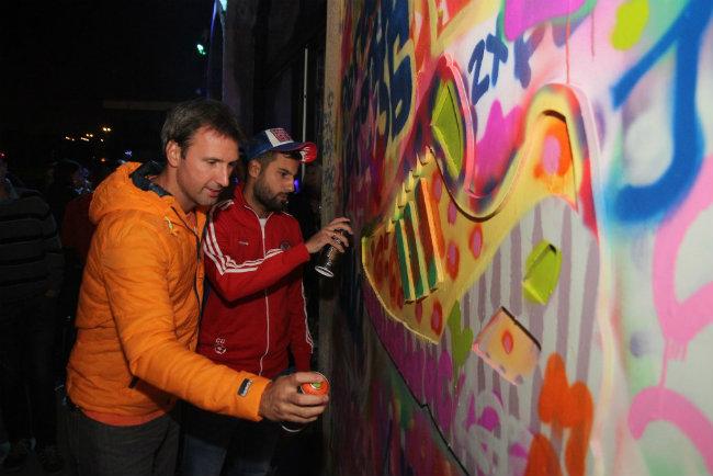 Milan Boskovic i Marko Djurovski Gosti žurke zajednički dizajnirali adidas patike