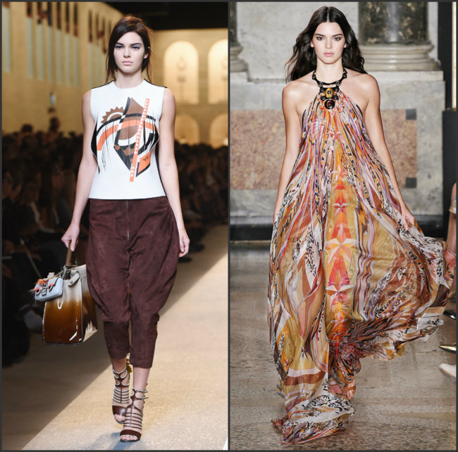Milano Kendal Džener Najbolja izdanja Kendal Džener sa Nedelja mode