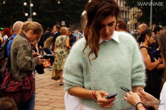 Milano fashion week street style 12 Street Style Milano: Nedelja mode