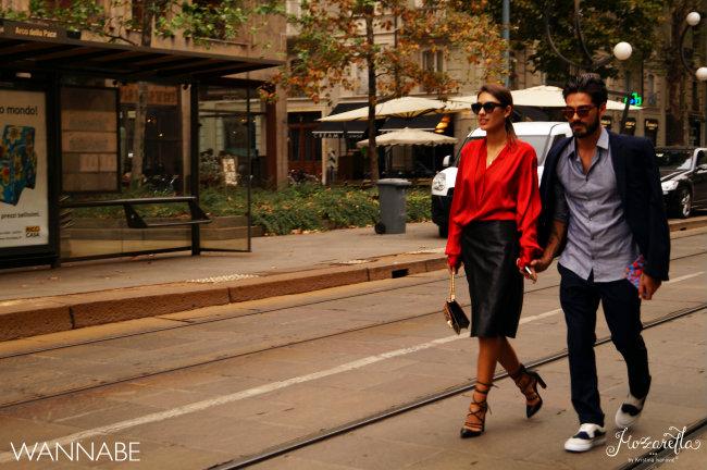Milano fashion week street style 17 Street Style Milano: Nedelja mode