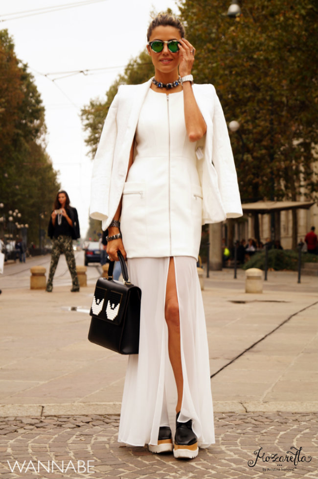 Milano fashion week street style 7 Street Style Milano: Nedelja mode