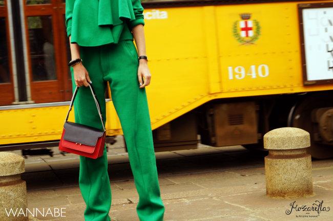 Milano fashion week street style 9 Street Style Milano: Nedelja mode