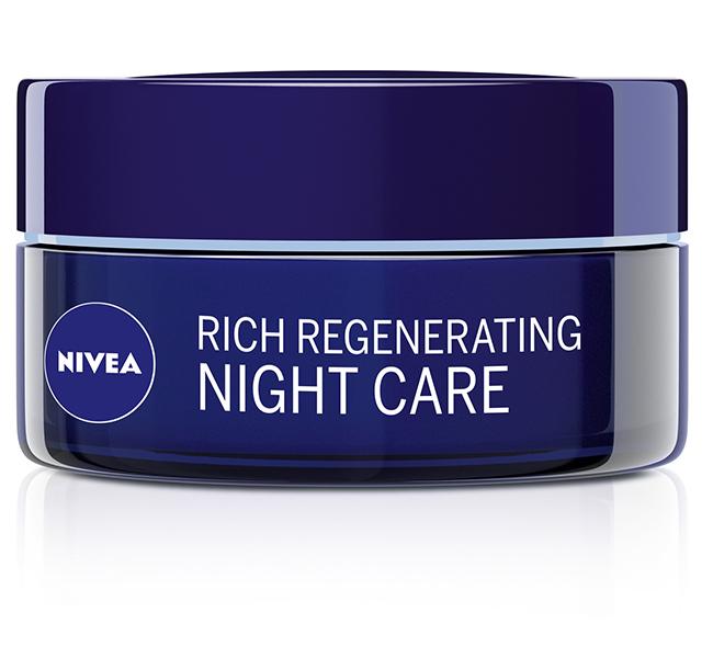 NIVEA Rich Regenerating Night Care NIVEA proizvodi za negu lica – nova pakovanja za održivu budućnost!