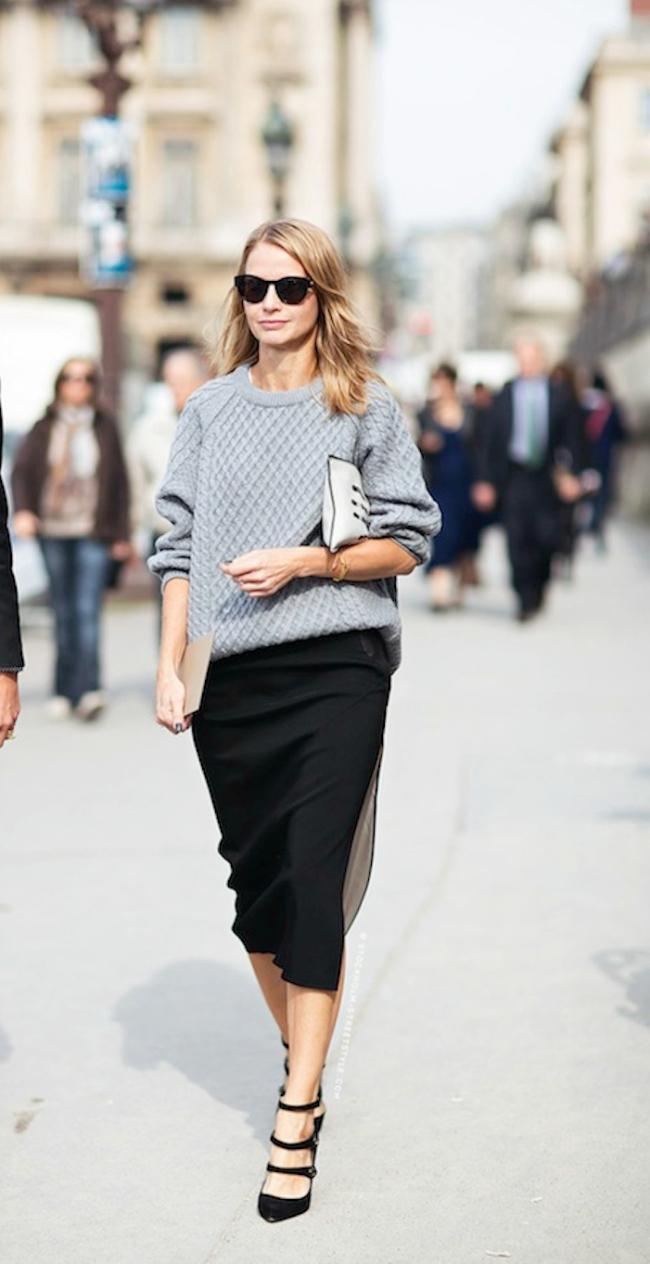 Naocare Šta obući ove nedelje: Džemper i suknja