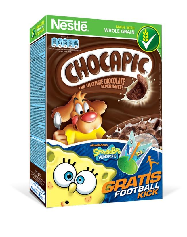 Nestle Chocapic Sundjer Bob Sunđer Bob Kockalone uz Nestlé žitarice za decu