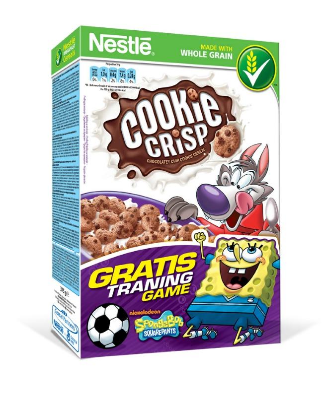 Nestle Cookie Crisp Sundjer Bob Sunđer Bob Kockalone uz Nestlé žitarice za decu