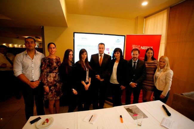 Nestle Polaznici Inicijative za zapošljavanje mladih David Gaal Nestlé: Inicijativa Savez za mlade uposliće 100.000 mladih širom Evrope