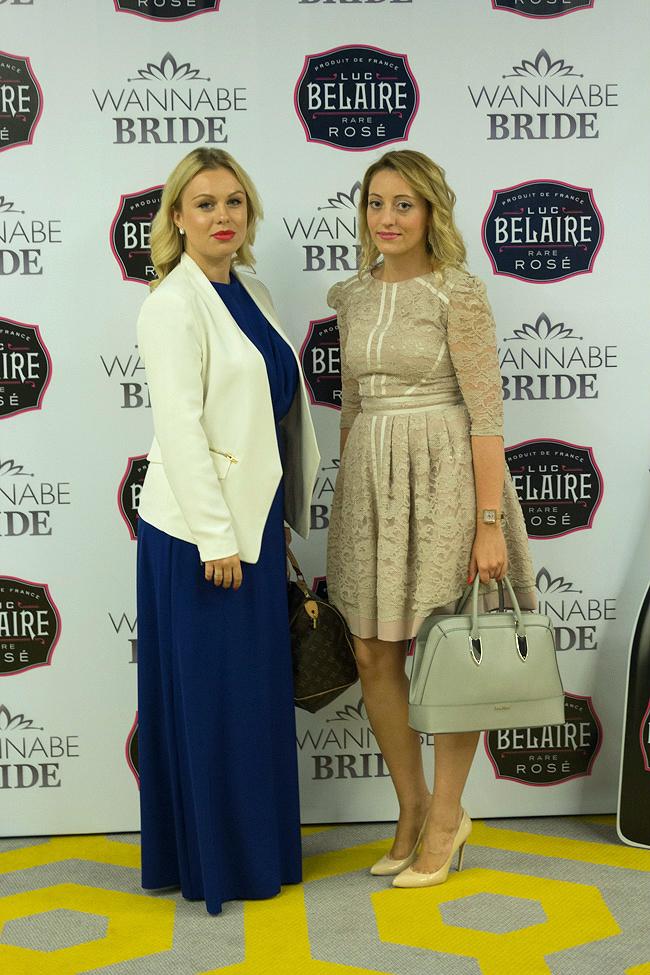 Nina Milovic i Nadja Jokanovic osnivaci Wannabe Magazina Wannabe Bride Vikend: Svečani koktel sa poznatima