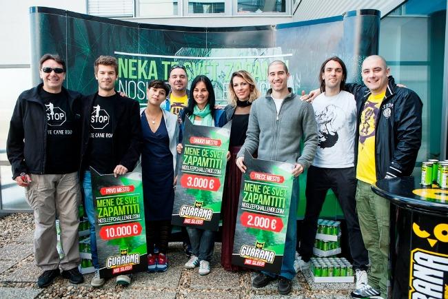 No Sleep Chalenge Dobitnici sa clanovima zirija Guarana NOSLEEPCHALLENGE: Dodeljene nagrade najboljima