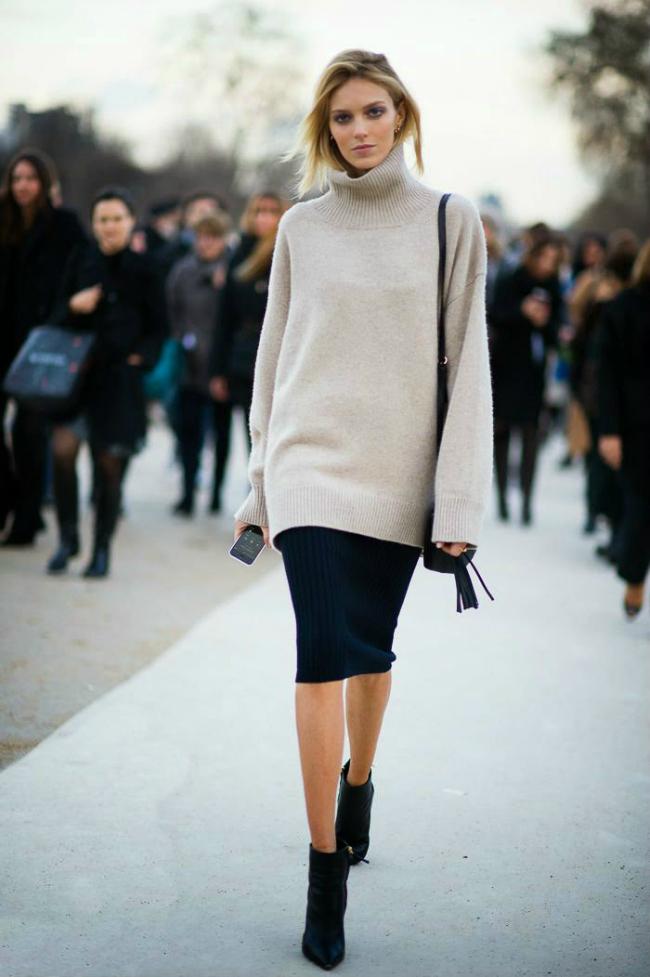 Pencil Šta obući ove nedelje: Džemper i suknja