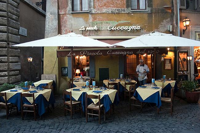 Roma Sparita Najbolji restorani Rima