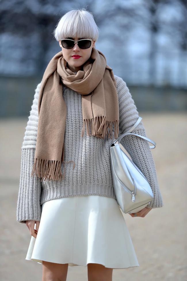 Sal Šta obući ove nedelje: Džemper i suknja