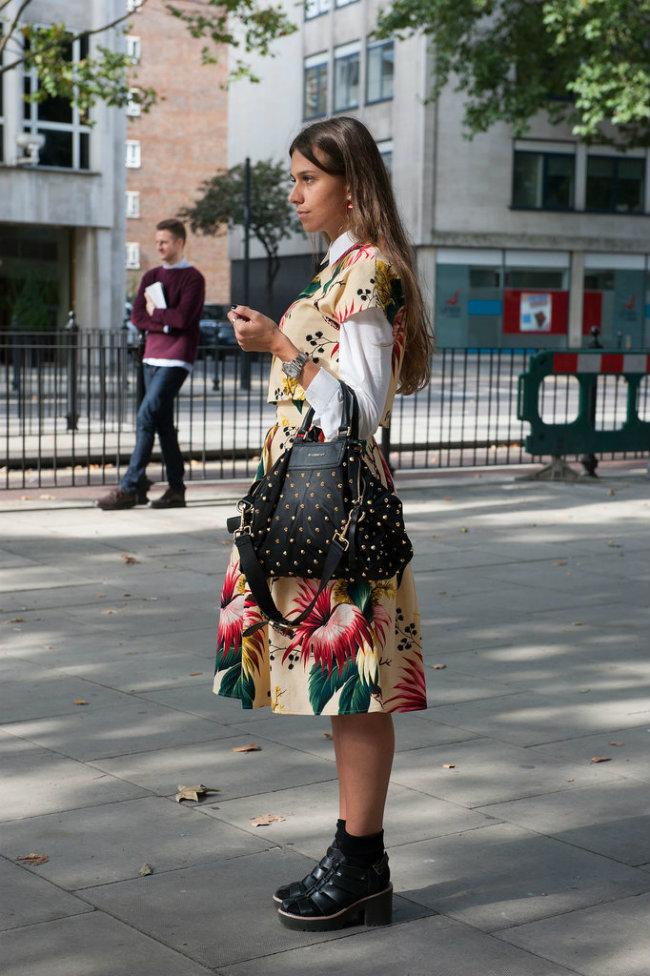 Street Style Nedelja mode u Londonu 10 Street Style: Nedelja mode u Londonu