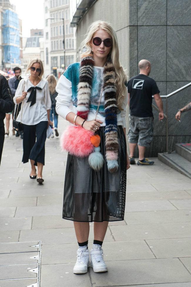 Street Style Nedelja mode u Londonu 6 Street Style: Nedelja mode u Londonu